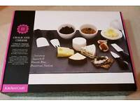 Cheese board set brand new