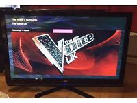 "42"" JVC LED TV FULL HD CAN DELIVER."