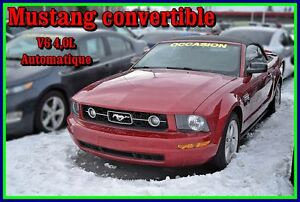 2008 Ford Mustang V6 convertible