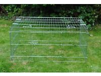 Metal Run for Guinea Pigs, Dwarf Rabbit or other Small Animals
