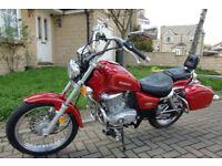 Suzuki GZ 125 HS - 2007 - Very low Mileage - Beautiful Motorcycle