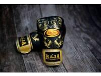 Raja Muay thai 16oz gloves. Brand new unused