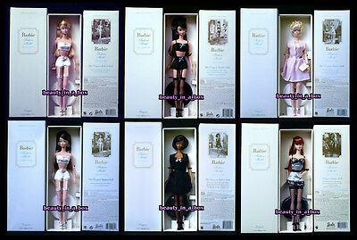 Lingerie Silkstone Fashion Model Collection #1 2 3 4 5 6  Barbie Full Set V Good