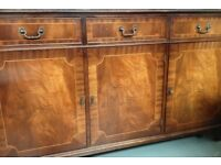 Wood Sideboard Dresser Cabinet