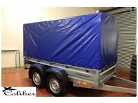 Car trailer Faro twin axle 263cm x 125cm 750kg + Top cover