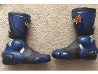 RST Motorcycle Boots Size 8