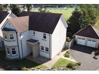 A modern unfurnished four bedroom family home situated on the south west side of North Berwick.
