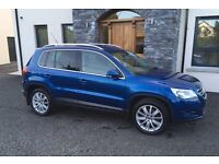 VW TIGUAN 2.0TDI 4 MOTION SPORT IN EXCELLENT CONDITION