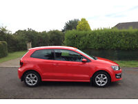 2010 VW POLO MODA - 1.2 (70HP) 80k MILES - FSH, RED, 3DR
