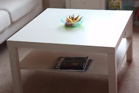 Coffee table (Ikea) £10 (78x78cm)