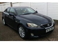 T-Z CARS PRESENT A 2006 LEXUS IS 250 SE-L AUTO SALOON HISTORY 6 MONTHS WARRANTY PX WELCOME