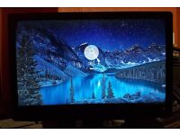 "Excellent LOGIK 24"" FULL HD 1080P Monitor,HDMI,FREEVIEW,DVD COMBI,USB"