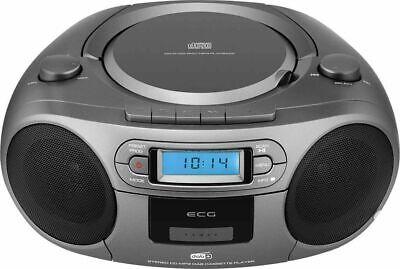 ECG CDR 999 DAB DAB+ / FM Radio con lettore CD/cassette