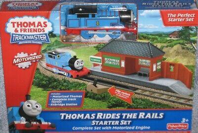 New Thomas & Friends TRACK MASTER Motorized THOMAS RIDES THE RAILS Starter Set