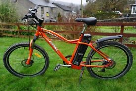 2015 Freego Martin Sport electric bike 100AH battery. Up to 100 mile range