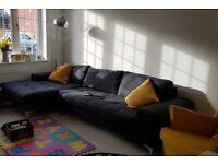 Made Corner Sofa - Anthracite Grey.