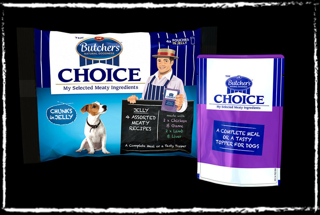 Butchers Choice Pouch Chunks In Gravy Dog Food Smoke Free Place