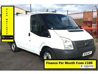 Ford Transit 2.2 280 100 BHP, - ONE FROM NEW , -, 1YR MOT ,116K Miles,Elec Windows, Warranty
