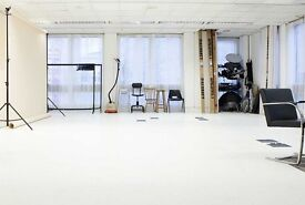 800sqft Photography Studio in Central London