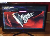 "42"" JVC LED TV FULL HD CAN DELIVER."