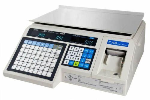 CAS LP-1000N  NTEP Label Printing, Market, Deli, Food Scale & Labels