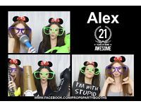 3 Hours Photo Booth Hire £295 ***Free Upgrade to TRIPLE PRINTS! With Guest Book***