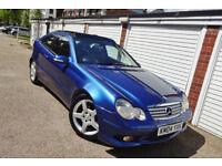 * 2004 Mercedes C220 CDi Se AMG Auto Coupe *