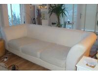 Large sofa/bed easily dismantled for transport in most hatchback cars