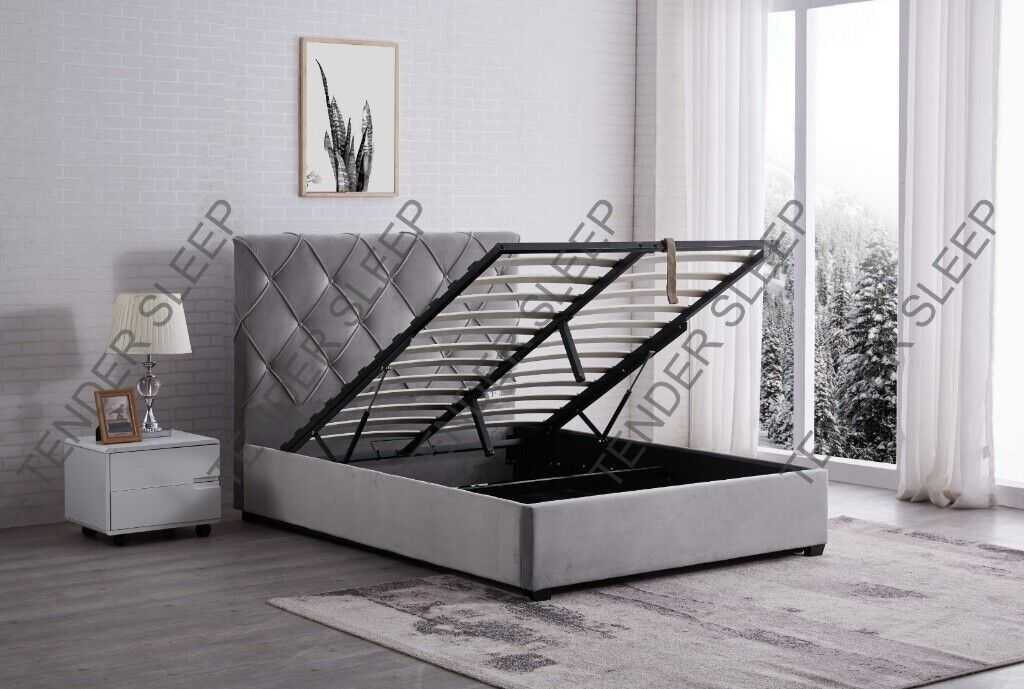 Fabulous High Quality New Bakersfield Ottoman Storage Bed Frame With Mattress Same Day Delivery In Kennington London Gumtree Ocoug Best Dining Table And Chair Ideas Images Ocougorg