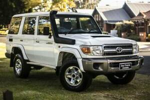 2015 TOYOTA LANDCRUISER VDJ76R (4X4) 4DWAGON 5SPMANNUAL Welshpool Canning Area Preview