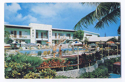 Vagabond Motel Biscayne Boulevard Miami Beach Florida Building Business Card](Biscayne Boulevard)