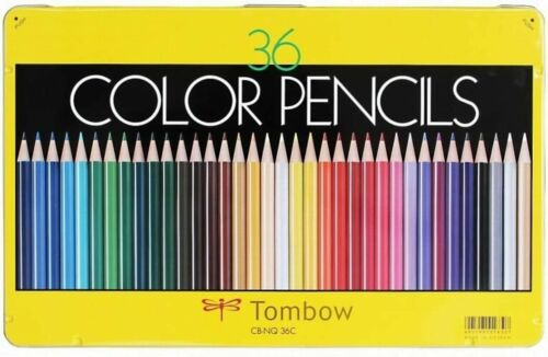 Tombow Pencil Colored Pencil NQ 36 Color Pencils CB-NQ36C from Japan