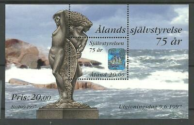 ALAND HOLOGRAM M/S, 75 Years of Autonomy - Åland 1997 MNH