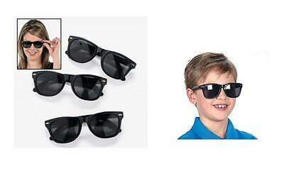 Black Nomad Sunglasses, For Parties Or Beach Party Favors, Fun Favor Glasses - Fun Glasses For Parties
