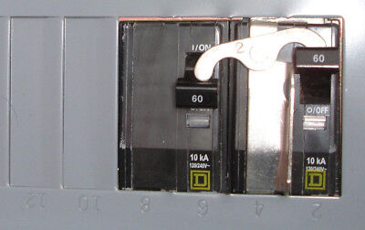 Generator Indoor Transfer Switch - New Square D Generator Transfer switch Panel Indoor for up to10,000 Watt 10KW *