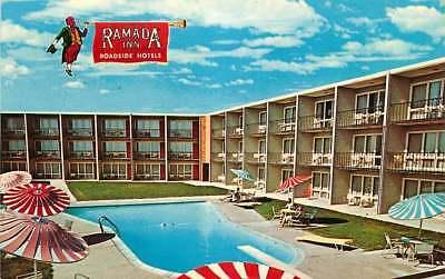 Roadside Postcard Ramada Inn  Minot  North Dakota