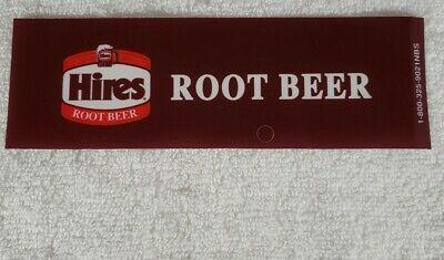 Hires Root Beer Vending Machine Flavor Strips 6 34 X 2 14 Four