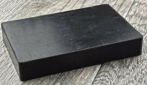 Jewelry Polishing RUBBER BLOCK Dampening High Density Will Not Mar Stamp 6x4x3/4