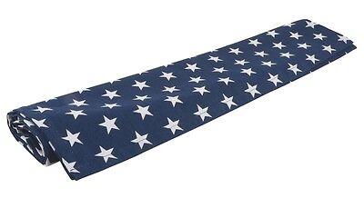 STARS dunkelblau Tischläufer 50x150cm | dänisches Design Sterne Blauer Tischläufer