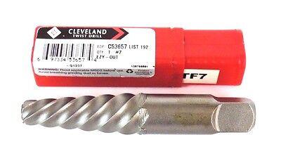 Nib Cleveland Twist Drill C53657 4.125 Ezy-out