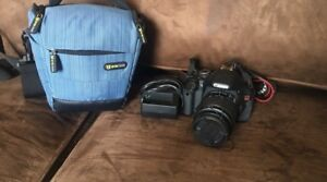 Canon T3i with case