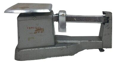 Usps Postage Scale Shipping 1974 Balance Weight 1 Pound Usa Gray Movie Prop
