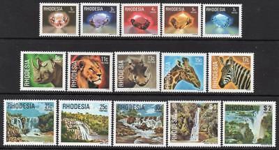 RHODESIA MNH 1978 Definitive Set
