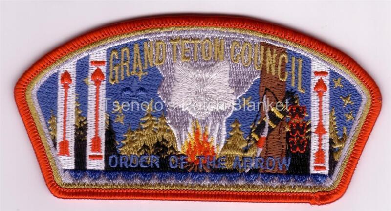 Grand Teton Council 2006 SA-149 Lodge 407 NOAC Csp Mint Condition FREE SHIPPING