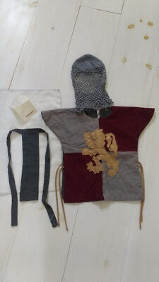 CHILD MEDIEVAL KING ARTHUR boy's costume dress up sz 2T- 3T From Spain - Boy From Up Costume