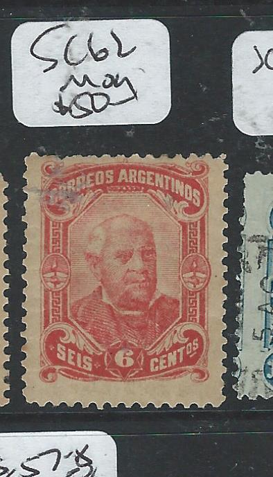 ARGENTINA (P0806B)  6C  SC62  VF  MOG
