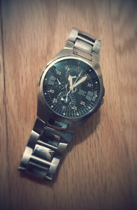 GUESS Men Steel Quartz Stainless Steel Watch