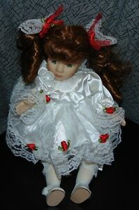 Musical porcelain doll
