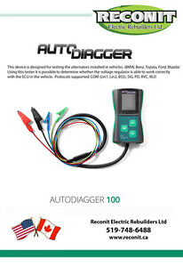 Alternator Voltage Tester - AD100