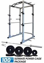 Ultimate Bumper Plate Power Cage Package Brand New Bibra Lake Cockburn Area Preview